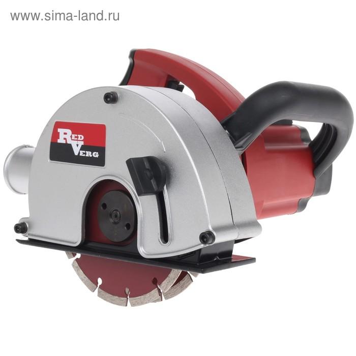 Бороздодел RedVerg RD-WG40, 1700Вт, 4000 об/мин,диск 150х22.2 мм