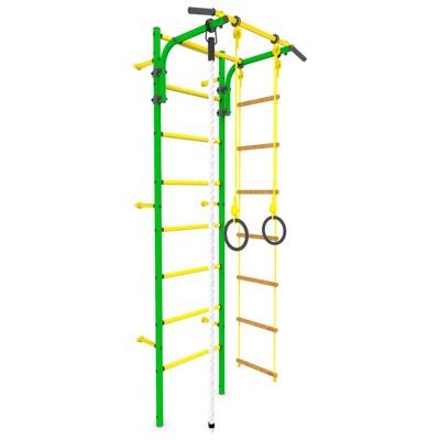Детский спортивный комплекс «Атлет-2», ПВХ, цвет зелёный - Фото 1