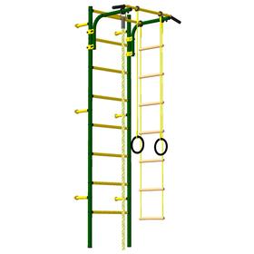 Детский спортивный комплекс «Атлет-2», ПВХ, цвет зелёный мох