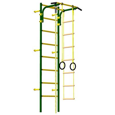 Детский спортивный комплекс «Атлет-2», ПВХ, цвет зелёный мох - Фото 1
