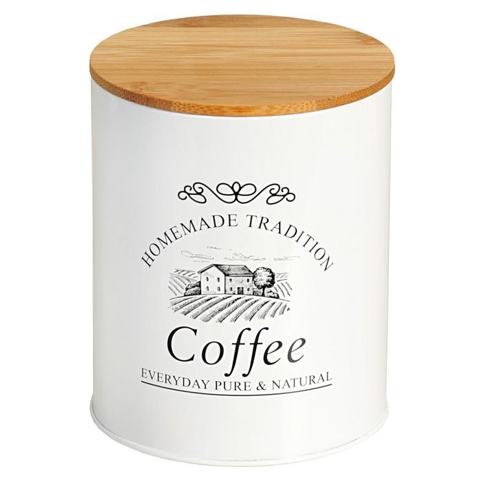 Банка Coffee, d=11 см, высота 13,5 см, 1,2 л