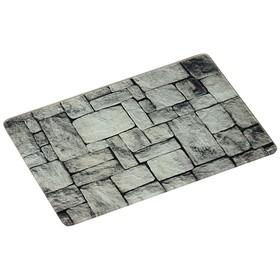 Доска разделочная «Камни», 30 х 20 х 0,7 см