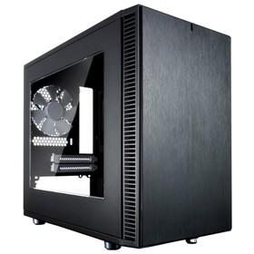 Корпус Fractal Design Define Nano S Window, без БП, miniITX, черный