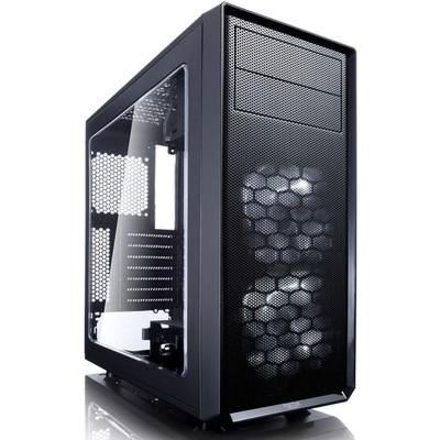 Корпус Fractal Design FOCUS G Window, без БП, ATX, черный - Фото 1