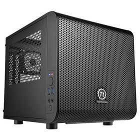 Корпус Thermaltake Core V1, без БП, miniITX, черный