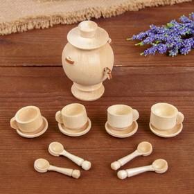 Чайный сервиз, с самоваром Ош