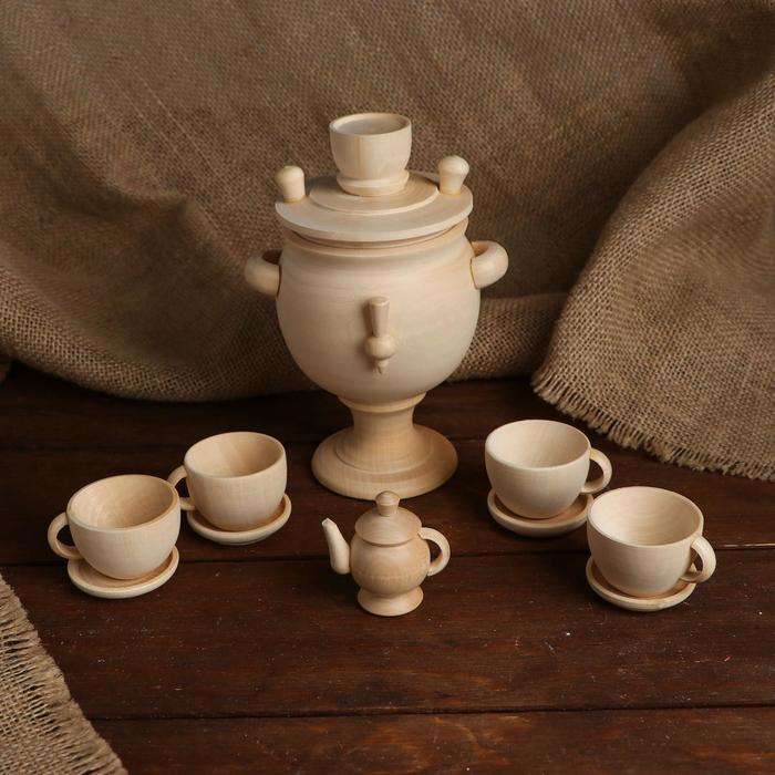 «Чайный сервиз с самоваром», большой