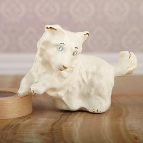 Сувенир 'Собака', глянец, белый, 9 см Ош