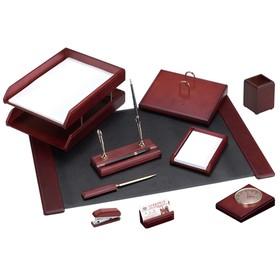 Набор настольный Delucci, 10 предметов, цвет красное дерево