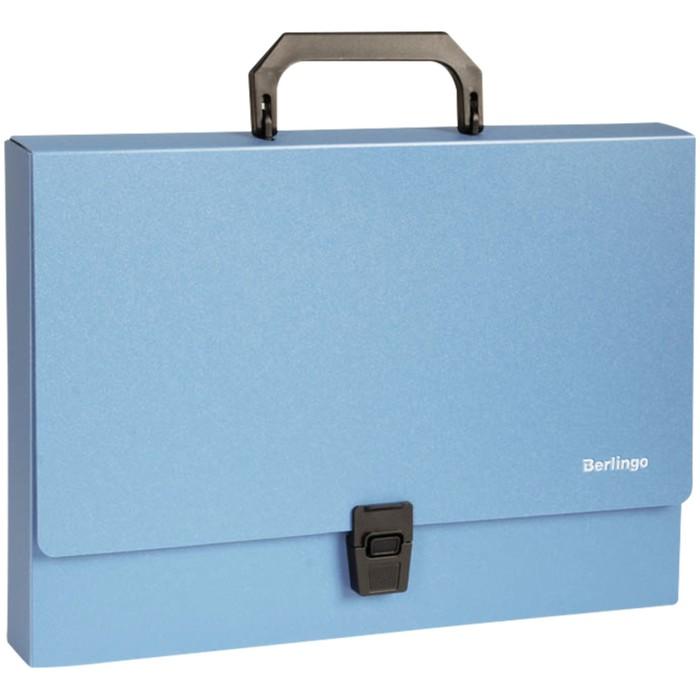 Папка-портфель А4, 1 отделение Berlingo Standard, 1000 мкм, синяя 117158