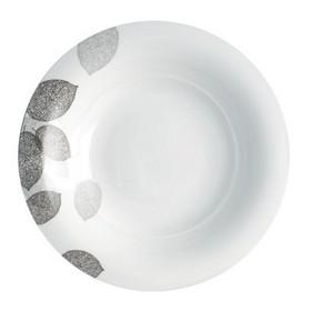Тарелка суповая Bosqua Platina, 23 см