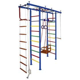 Детский спортивный комплекс Вертикаль № 11, 540 × 2100 × 2500-3000 мм