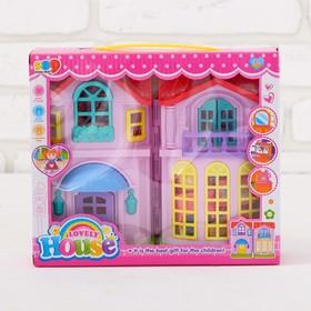 Дом для кукол «Любимый дом» с аксессуарами, световые и звуковые эффекты Ош