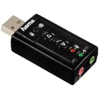Звуковая карта Hama USB H-51620 (C-Media CM108) 7.1 блистер