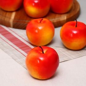 купить Муляж d-8 см яблоко красное