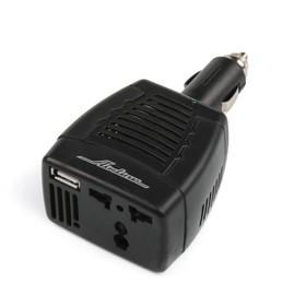 Инвертор Airline API-75-00, 12 В-220 В, 75 Вт, с USB Ош