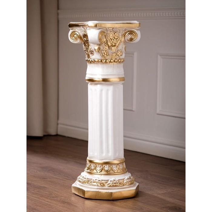"""Статуэтка """"Колонна Акрополь"""" высокая золото 75 см"""