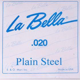 Отдельная стальная струна La Bella PS020  020