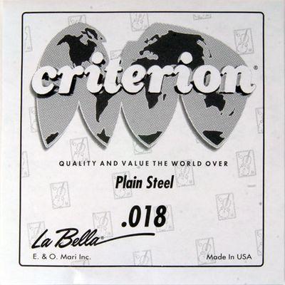 Отдельная струна La Bella CPS018  сталь, 018 - Фото 1