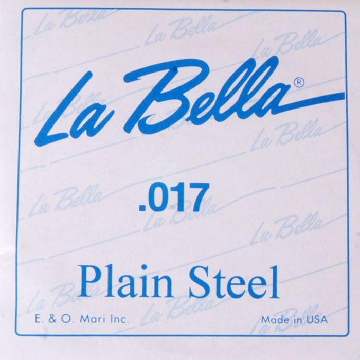 Отдельная стальная струна La Bella PS017  017