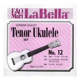 Комплект струн для укулеле La Bella  12-TENOR