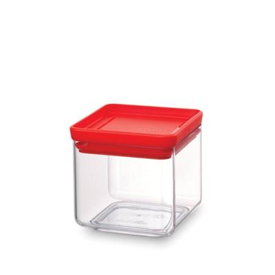 Прямоугольный контейнер Brabantia Tasty Colours, цвет красный, 0.7 л