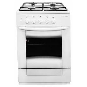 Плита 'Лысьва' ГП 400 М2С-2у, газовая, 4 конфорки, 57 л, без крышки, белая Ош