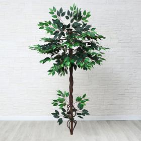 Дерево искусственное с корнями 140 см МИКС Ош
