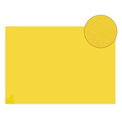 Картон цветной, двусторонний: текстурный/гладкий, 210 х 297 мм, Sadipal Fabriano Elle Erre, 220 г/м, жёлтый яркий GIALLO