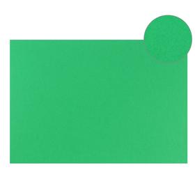 Картон цветной, Двусторонний: текстурный/гладкий, 210 х 297 мм, Sadipal Fabriano Elle Erre, 220 г/м, зелёный, VERDE Ош