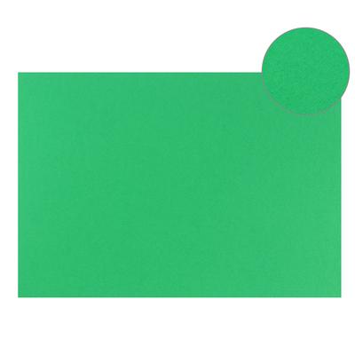 Картон цветной, Двусторонний: текстурный/гладкий, 210 х 297 мм, Sadipal Fabriano Elle Erre, 220 г/м, зелёный, VERDE - Фото 1
