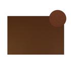 Картон цветной, Двусторонний: текстурный/гладкий, 210 х 297 мм, Sadipal Fabriano Elle Erre, 220 г/м, коричневый, MARRONE