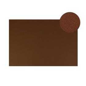 Картон цветной, Двусторонний: текстурный/гладкий, 210 х 297 мм, Sadipal Fabriano Elle Erre, 220 г/м, коричневый, MARRONE Ош