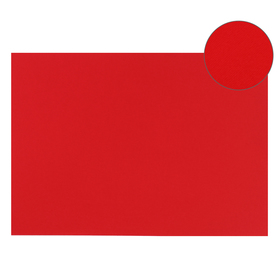 Картон цветной, Двусторонний: текстурный/гладкий, 210 х 297 мм, Sadipal Fabriano Elle Erre, 220 г/м, красный, ROSSO Ош