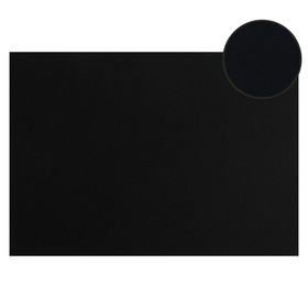 Картон цветной, двусторонний: текстурный/гладкий, 210 х 297 мм, Sadipal Fabriano Elle Erre, 220 г/м, чёрный, NERO