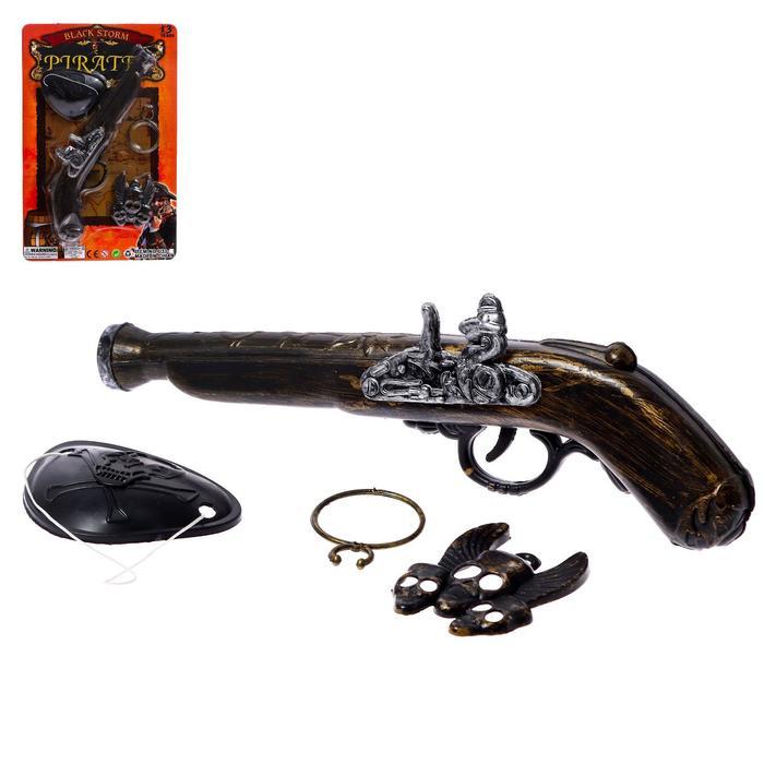 Набор пирата Черный шторм, 4 предмета