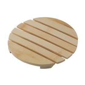 Подставка под горячее, бамбук, d=16 х 1,2 см