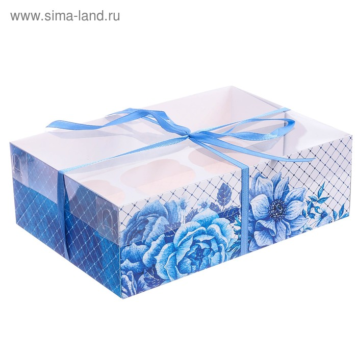 Коробка для капкейка «Для вдохновения» 16 × 23 × 7.5 см
