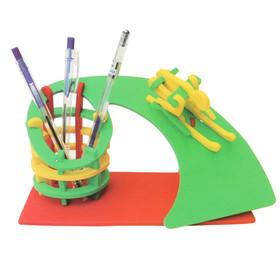 """Набор для творчества, """"Создай интерьерную карандашницу - горнолыжный спорт"""""""