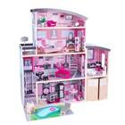 Большой кукольный дом для Барби «Сияние» с мебелью, 30 элементов