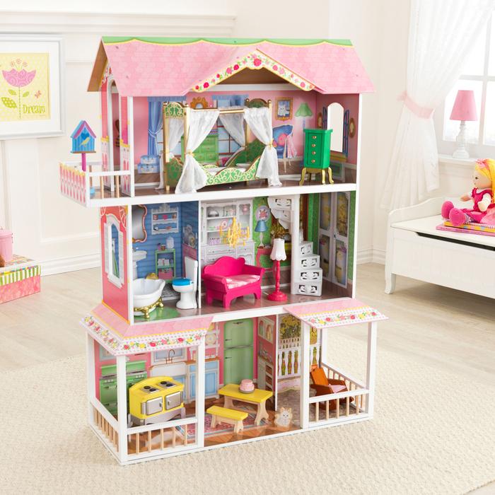 картинки кукольных домиков больших размеров