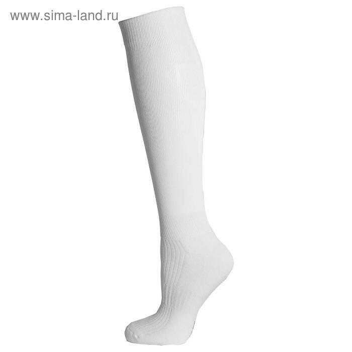 Гетры спортивные «Спорт 1», размер 35-37, цвет белый