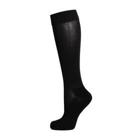 Гетры спортивные «Спорт 1», размер 32-34, цвет чёрный Ош