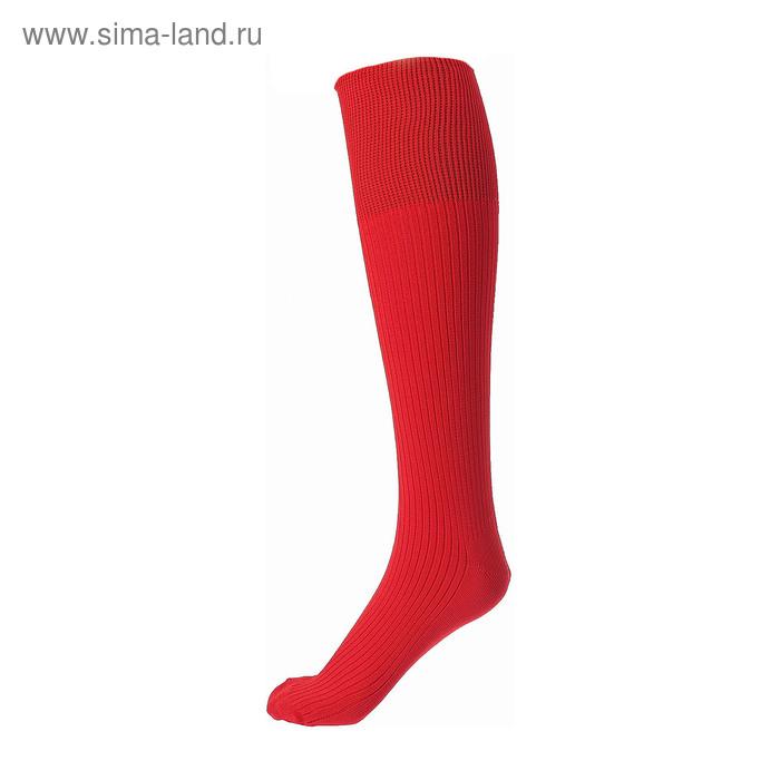 Гетры спортивные «Спорт 1», размер 32-34, цвет красный
