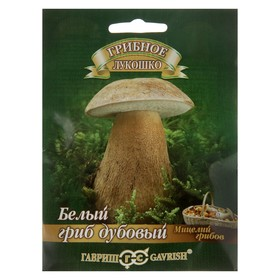 Мицелий на компосте 'Белый гриб' Дубовый на зерновом субстрате, 15 мл Ош