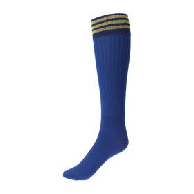 Гетры спортивные «Спорт 6», размер 32-34, цвет синий Ош