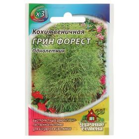 Семена цветов Кохия веничная 'Грин Форест', О, 0,2 г Ош