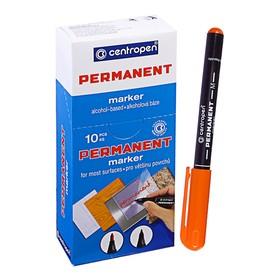 Маркер Centropen 2846 перманентный, 1.0 мм, оранжевый