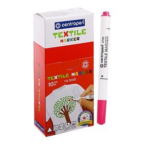 Маркер для ткани, Centropen 2739, 1.8 мм, розовый Ош