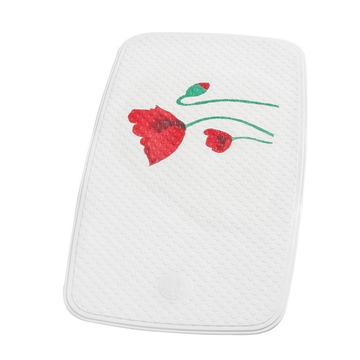 SPA-коврик противоскользящий 38х72 см Mohn, цвет красный